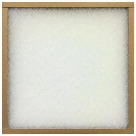 "Flanders EZ-Flow II (12 Filters), 16"" x 25"" x 1"" Flat Panel Furnace Air Filter"