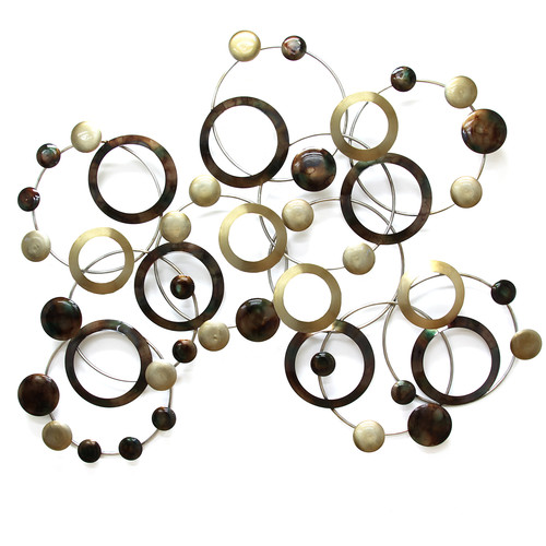 Stratton Home Decor Geometric Circles Wall D cor