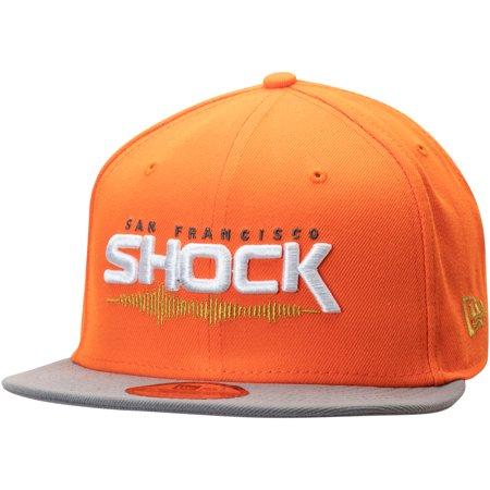 New Era Stock - San Francisco Shock Overwatch League New Era Two-Tone Team Snapback Adjustable Hat - Orange - OSFA