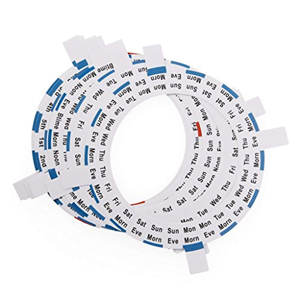 LiveFine 6 Replacement Dosage Ring for the LiveFine Automatic Pill Dispenser, 28-Day Electronic