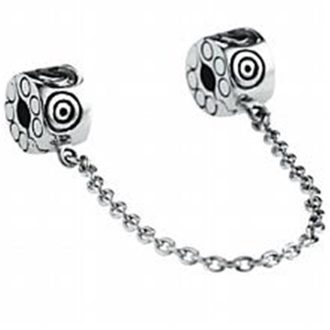 Marketplace 151087 Spirals Sterling Silver Safety Chain Moress SCM-04