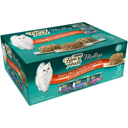 Purina Fancy Feast Medleys Chicken Recipe Wet Cat Food  3 Oz