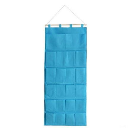 Blue Hanging Wall hanging/ Sewing Baskets / Wall Baskets / Hanging Baskets - image 1 of 1