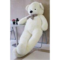 """Joyfay 91"""" Giant Teddy Bear, White, 7.6ft, Birthday Christmas Valentine Gift"""