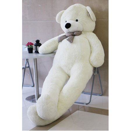 Joyfay Giant Teddy Bear (7.5 feet) in White- Big Stuffed Bear (91 inches), Giant Gift for Valentines Day, Christmas, Easter, Birthdays and - Giant Eraser