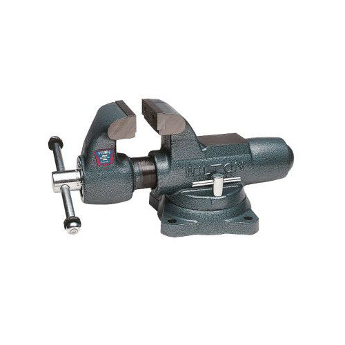 Wilton 10016 400S, Machinists' Bench Vise Swivel Base, 4 in. Jaw Width, 6-1 2 in. Jaw Opening, 3-1 2 in.... by JPW Industries