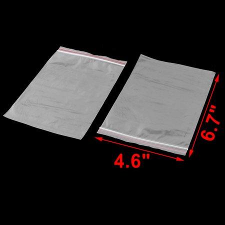 Home Plastic Water Resistant Tea Leaves Beans Storage Holder Sealing Bag 100pcs - image 1 de 3