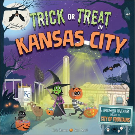 Trick or Treat in Kansas City : A Halloween Adventure Through the City of (Malls In Kansas)