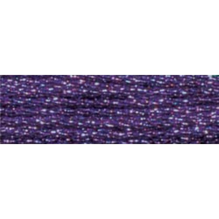 Dmc Light Effects Embroidery Floss 8 7Yd-Purple Ruby