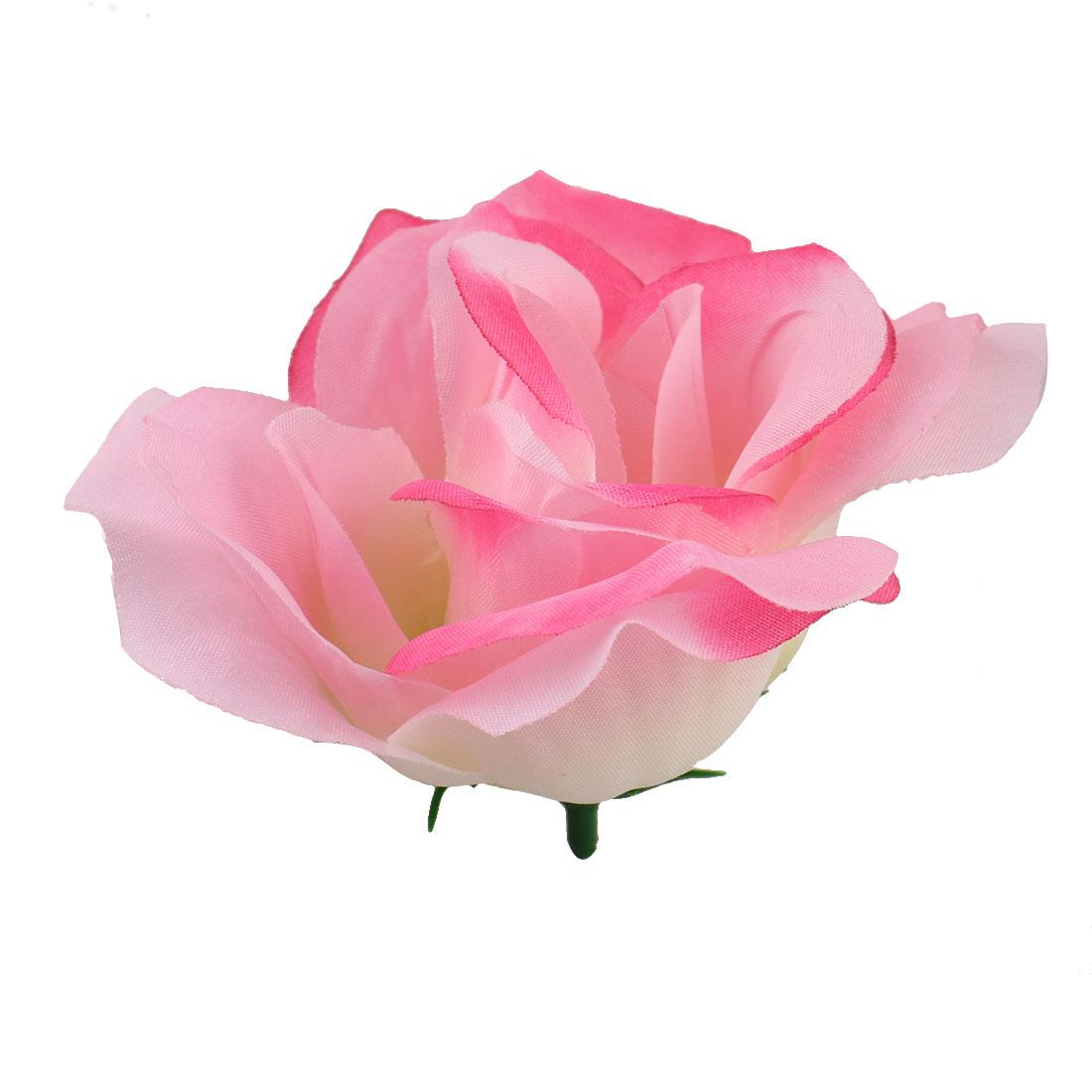 Office Bedroom Table Desk Handcraft Artificial Flower Rose Heads Decoration # 1 - image 4 of 4