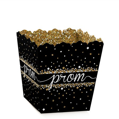 Prom Night - Party Mini Favor Boxes - Prom Party Treat Candy Boxes - Set of 12 (Prom Favor Ideas)