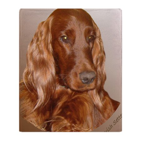 "CafePress - Irish Setter - Soft Fleece Throw Blanket, 50""x60"" Stadium Blanket"