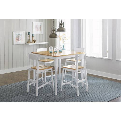 Longshore Tides Christy Counter Height 5 Piece Dining Set