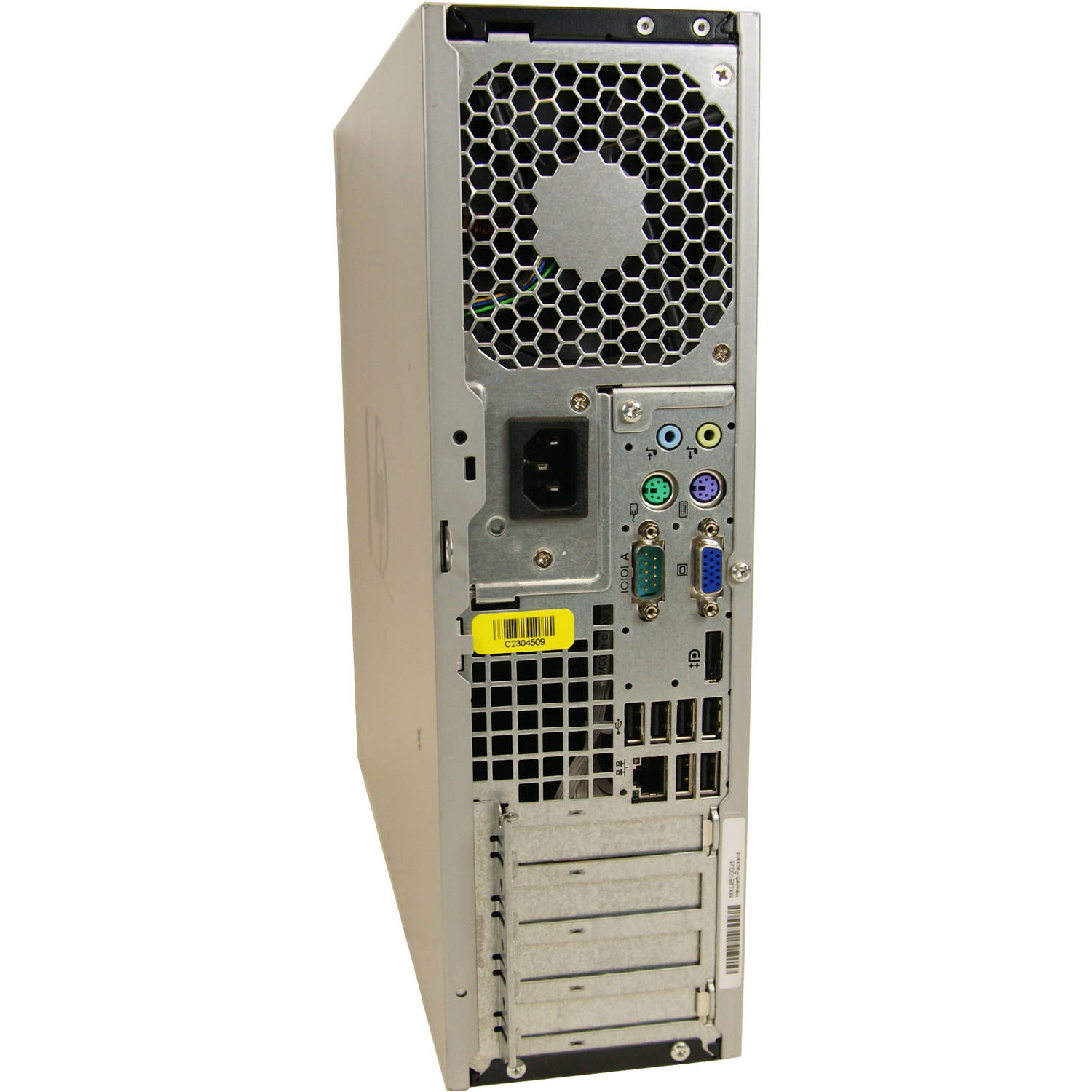 Refurbished Hp Dc7900 Small Form Factor Desktop Pc With Intel Core 2 Duo Processor 4gb Memory 750gb Hard Drive And Windows 10 Pro Monitor Not Included