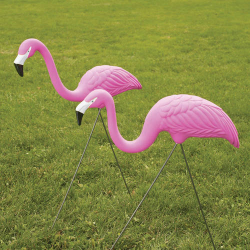 Novelty Flamingos, Pack of 2