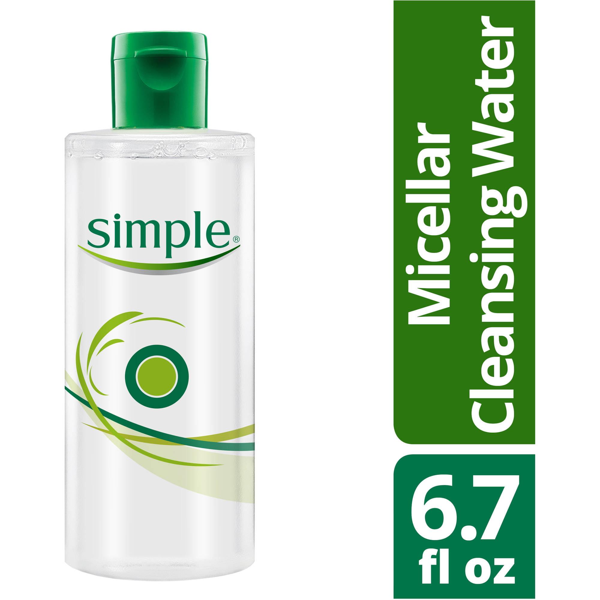 Simple Micellar Cleansing Water, 6.7 oz