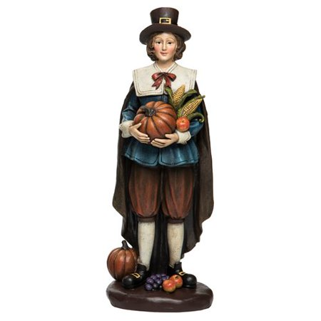 The Holiday Aisle Resin Harvest Pilgrim Figurine