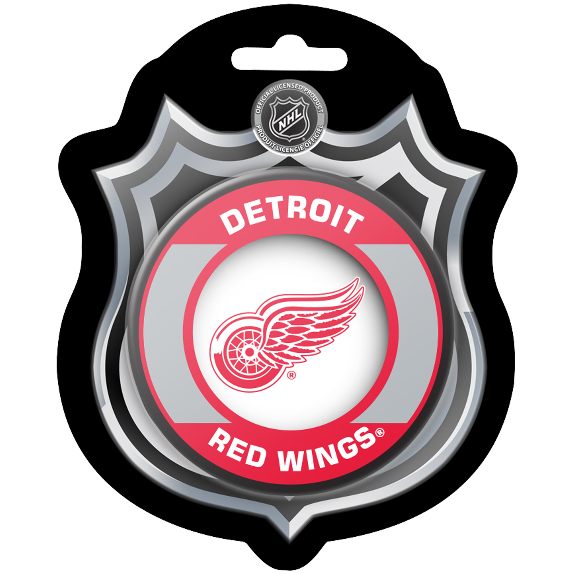 Detroit Red Wings Sher-Wood Retro Hockey Puck - No Size