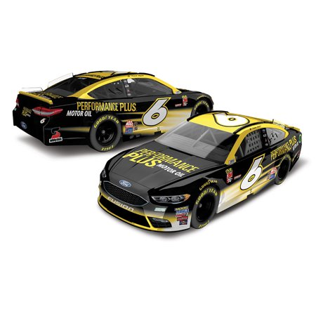 Trevor Bayne Action Racing 2018 #6 Performance Plus 1:64 Regular Paint Die-Cast Ford Fusion - No Size (Ford Performance Racing)