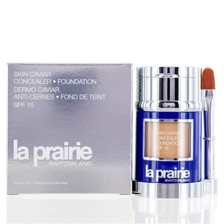 LA PRAIRIE SKIN CAVIAR CONCEALER FOUNDATION SPF 15 HONEY BEIGE 1.0 (La Prairie Skin Caviar Absolute Filler Reviews)