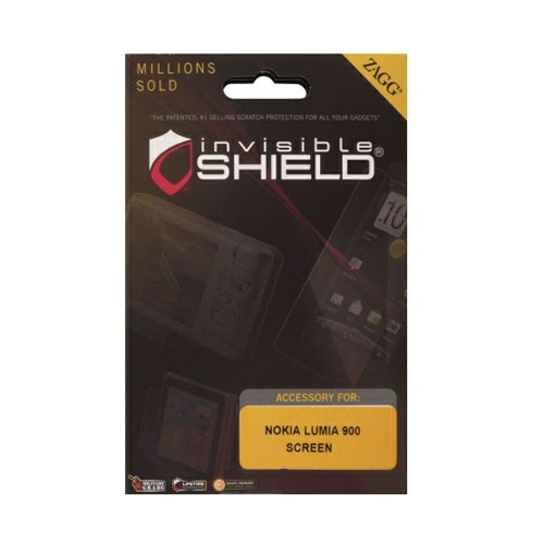 Zagg - invisibleSHIELD Screen Protector for Nokia Lumia 900 - Front Only - image 1 de 1