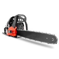 "20"" Bar 62CC Powerful Gas Chainsaw 2 Stroke Handed Petrol Chain Saw Woodcutting Saw with Tool Kit"