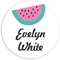 Watermelon Madness - Personalized 1.75 Circle Seal Sticker