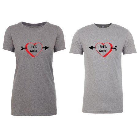 5f85ab639a Couple T-shirts, Valentine T-shirts for Couples, Matching Couple ...