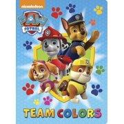 Paw Patrol Team Colors (Board Book)