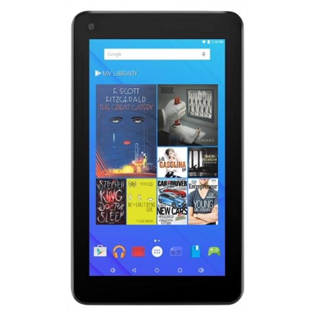 Ematic EGQ377BU 7 inch HD Quad Core Tablet 8GB, Blue