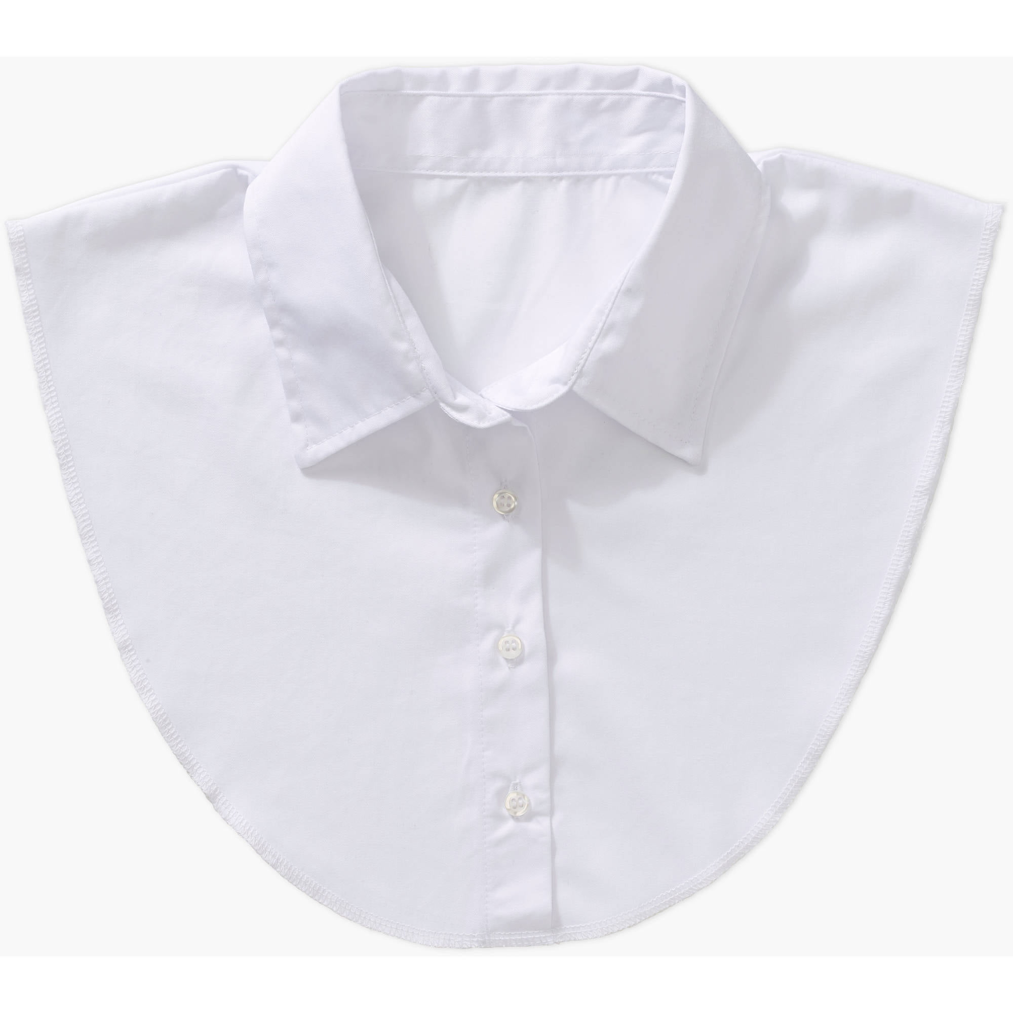 Womens Detachable Dickie Collar In White By Walmart