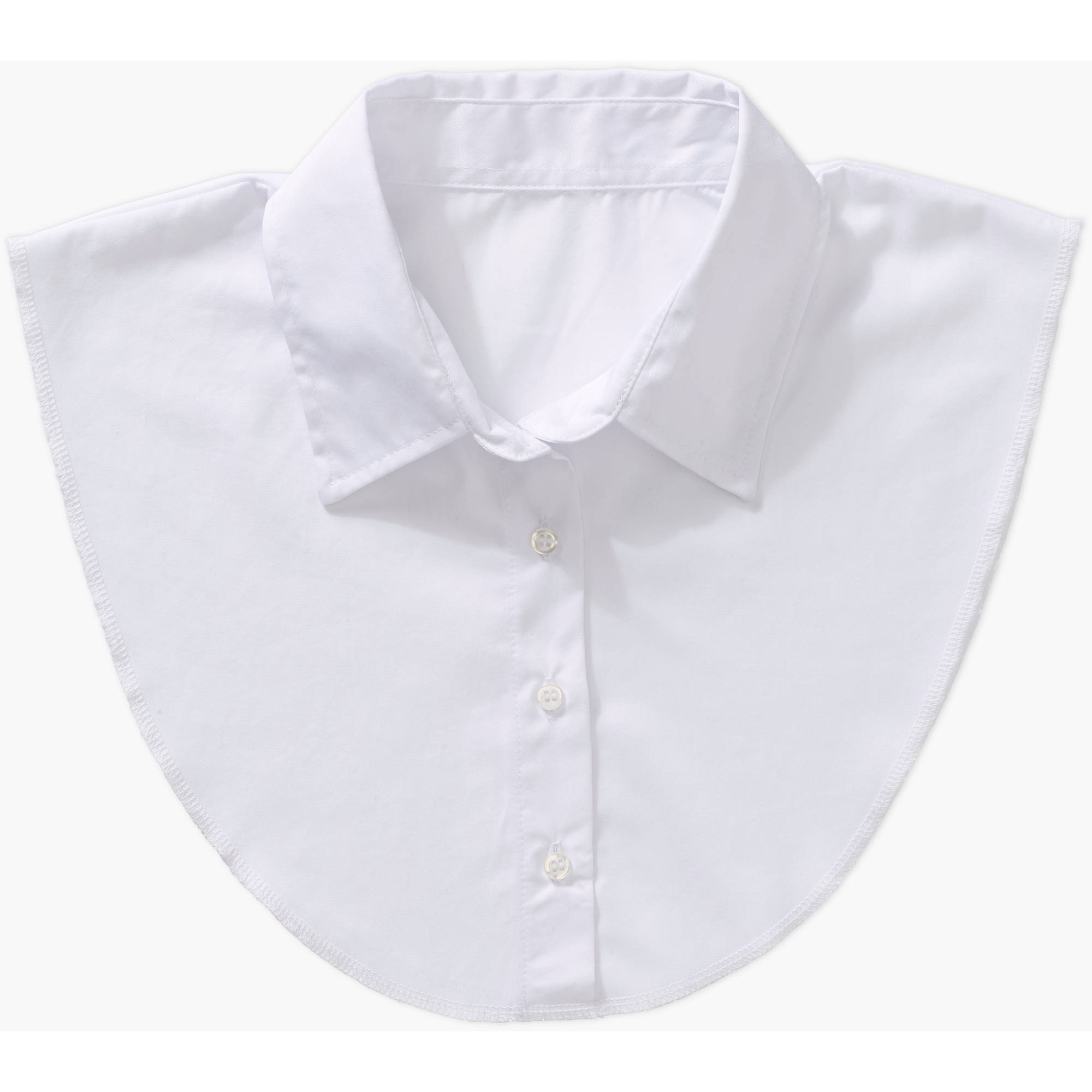 Women's Detachable Dickie Collar in White by IGotCollared