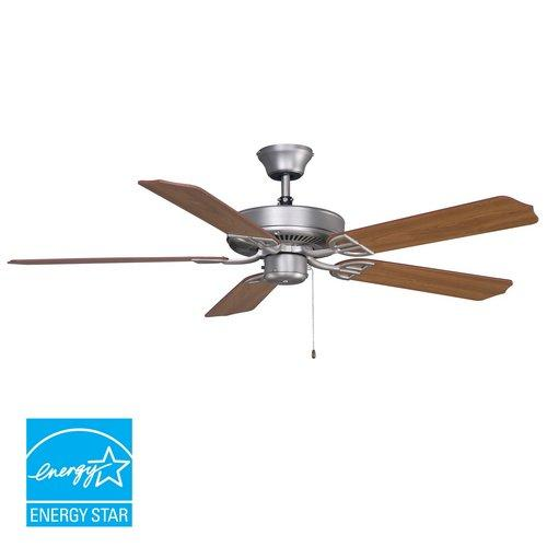 Builder Damp Rated Ceiling Fan in Satin Finish Finish