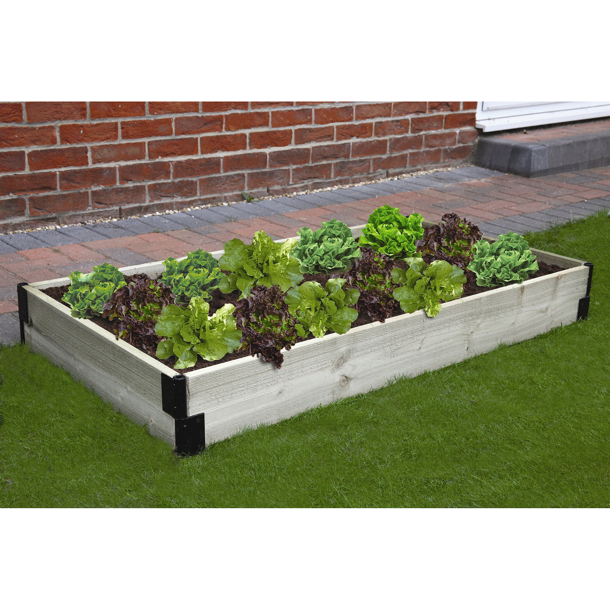 posite frame of kit bed composite it all garden raised inspirational rectangle