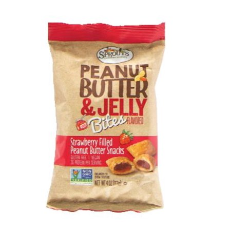 Sprouts Strawberry Peanut Butter & Jelly Bites, 4