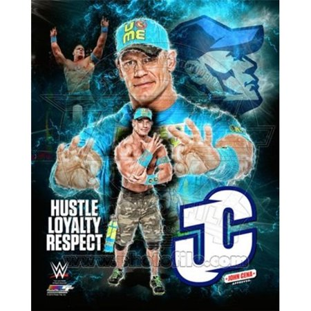Posterazzi PFSAARW22901 John Cena 2015 Portrait Plus Sports Photo - 8 x 10 in.