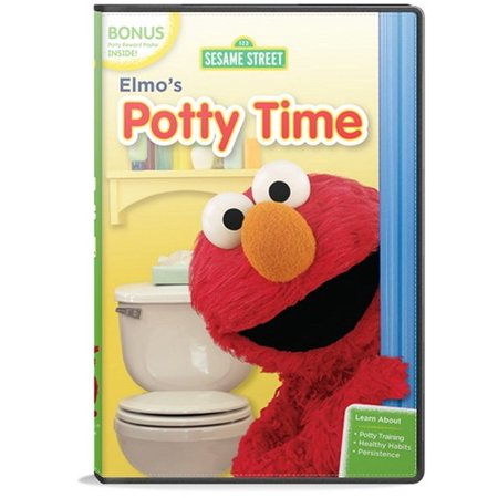 Potty Time Elmo - Elmo's Potty Time (DVD)