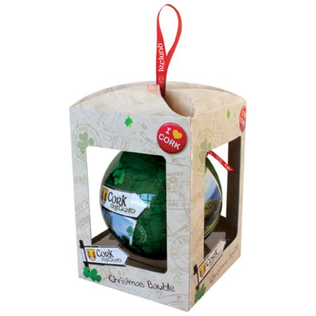 Shamrock Gift Company Ireland Holiday Decoration Christmas Bauble Featuring County Cork ()