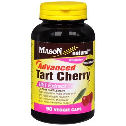 Mason Natural Advanced Tart Cherry 10:1 Veggie Caps 60 ea (Pack of 3)