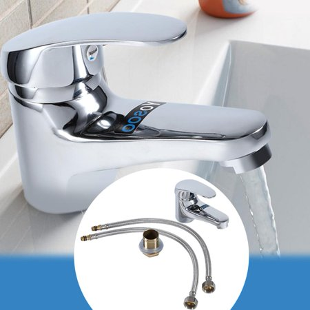 HURRISE Bathroom Basin Sink Mono Mixer Tap Chrome Single Lever Taps Faucet Free Delivery