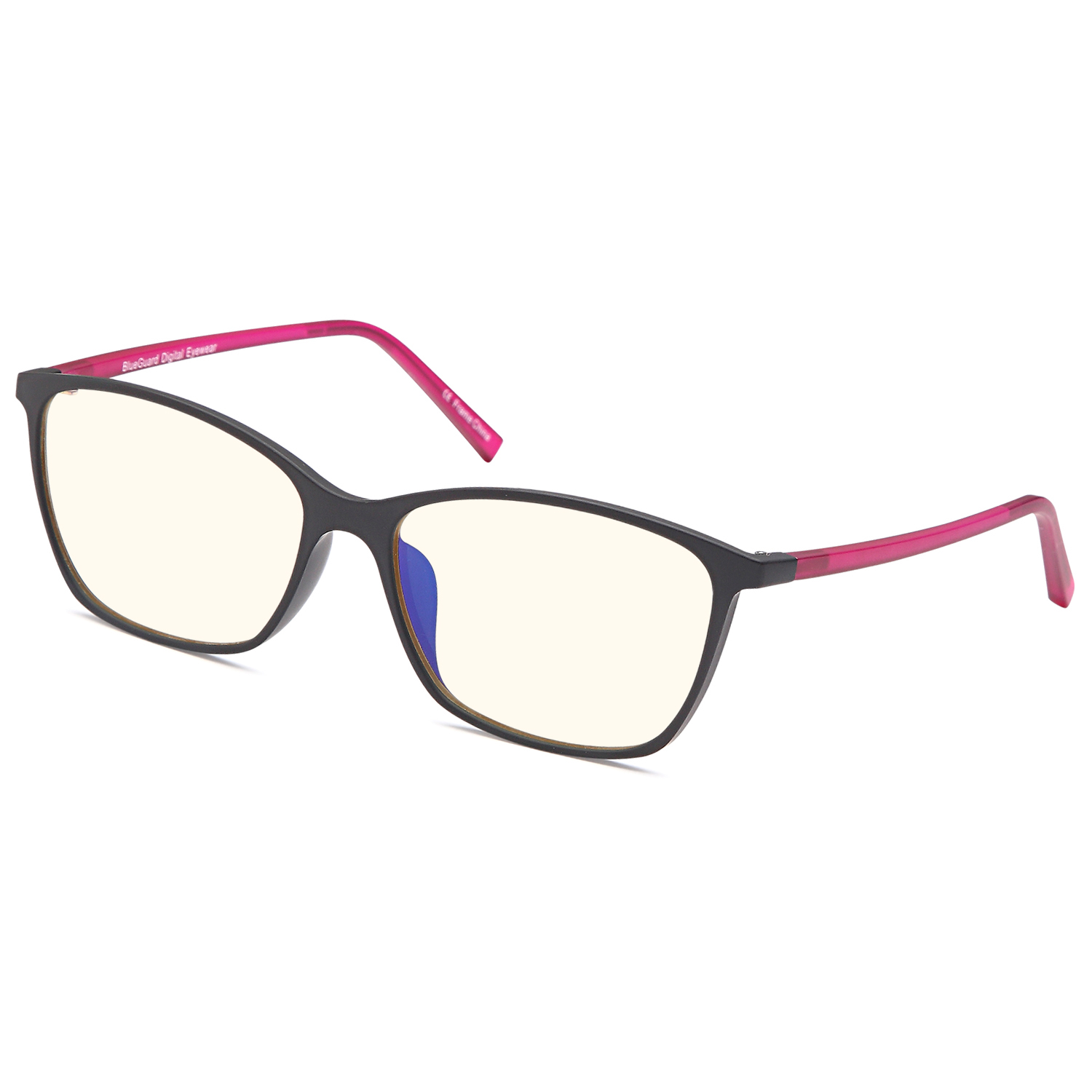 TRUST OPTICS Premium Optical Quality Glasses Frame in Modern Cateye RX Grooved Prescription Ready Rx-able Eyeglasses w Anti UV400 Anti Glare in Black Rose Color - Walmart.com | Tuggl