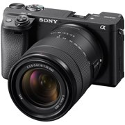 Sony Alpha A6400 4K Wi-Fi Digital Camera + 18-135mm Lens (Black)