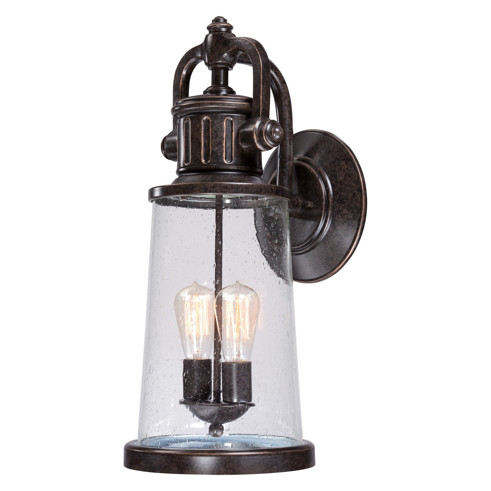Quoizel Steadman SDN8409IB Outdoor Wall Lantern