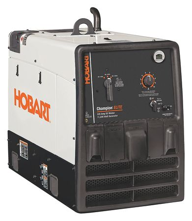 Hobart Engine Driven Generator Welder,40 to 225 500562 by HOBART