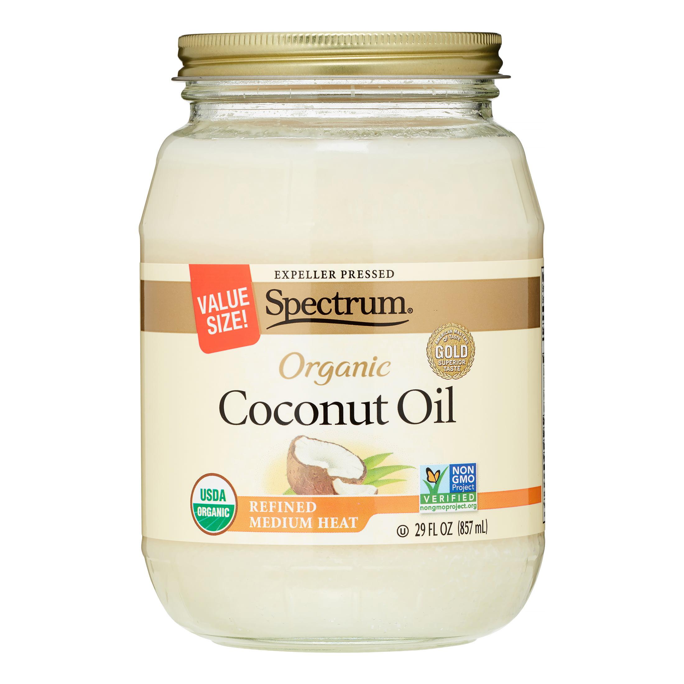 Spectrum Organic Refined Coconut Oil, 29 Fl Oz, 1 Count