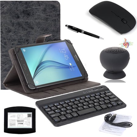 598c2320430 EEEKit 5in1 Office Kit for 8 Inch Dell Venue 8 7000 Verizon Ellipsis 8,  Universal Bluetooth Keyboard Stand Case ...