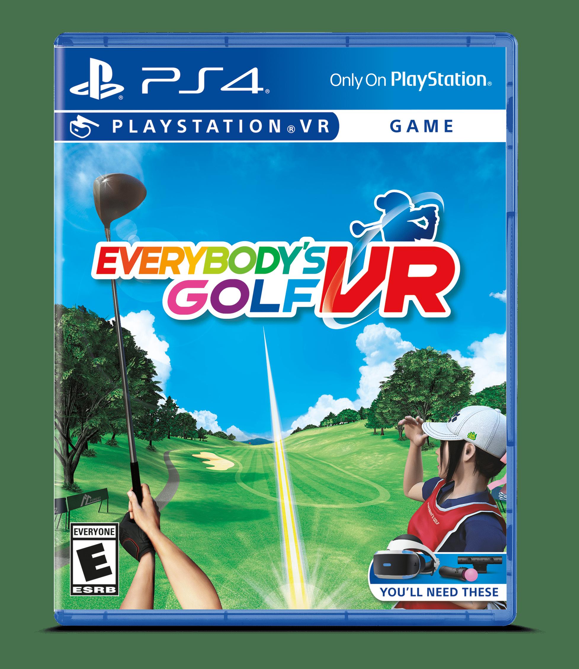 Everybodys Golf VR, Sony, PlayStation 4, 711719528920