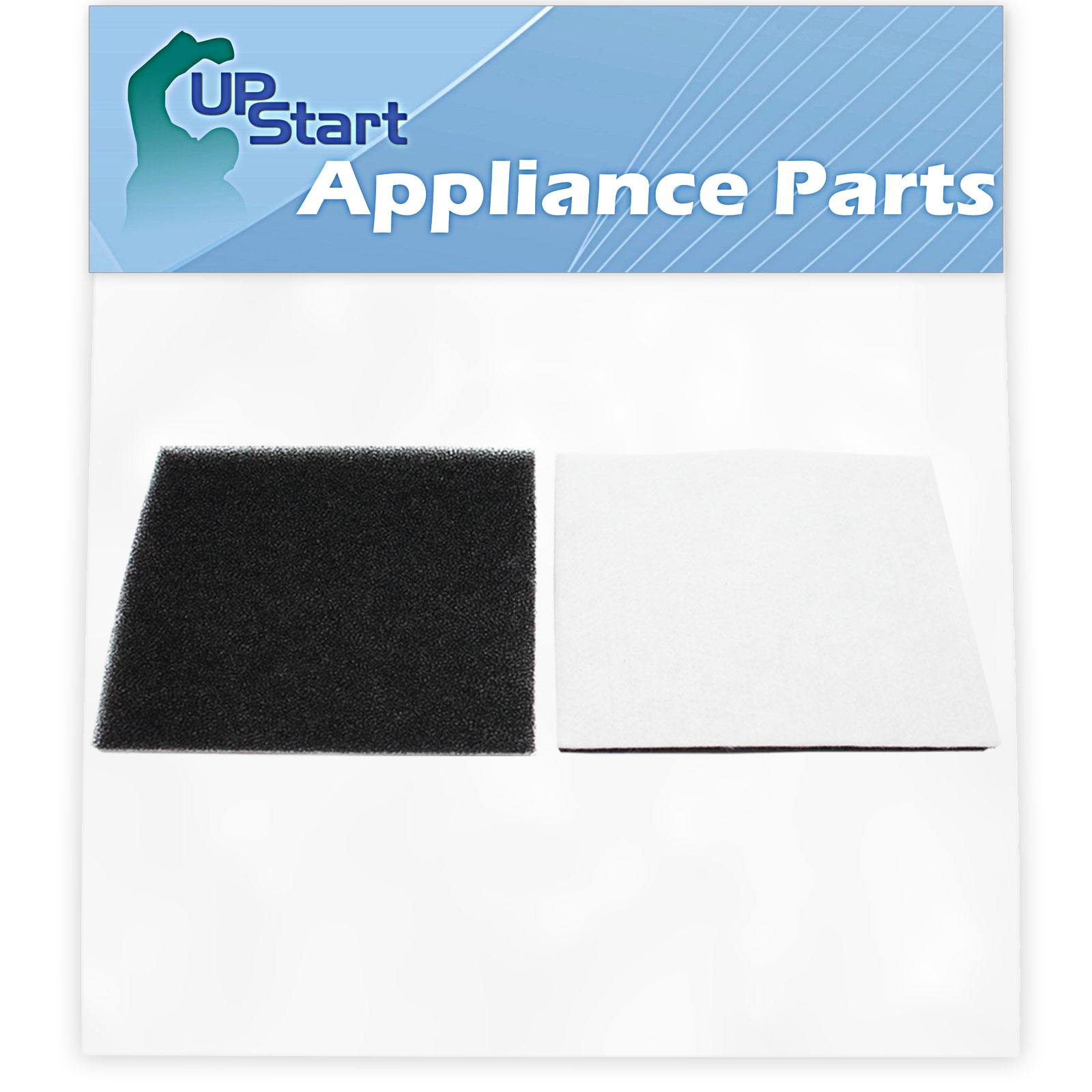 Replacement Kenmore 11621614014 Vacuum Foam Filter with 7-Piece Micro Vacuum Attachment Kit - Compatible Kenmore 86883, 8175084, CF-1 Progressive & Whispertone Foam Filter - image 1 of 4