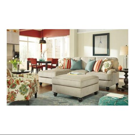 Benchcraft kerridon 263002sscol 3 piece living room set with 2 pc left chaise sectional sofa for 8 piece living room set
