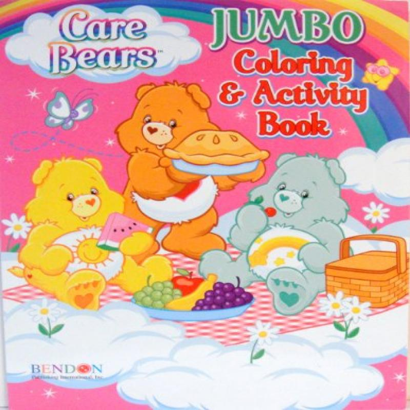 CARE BEARS COLORING & ACTIVITY BOOK (C)
